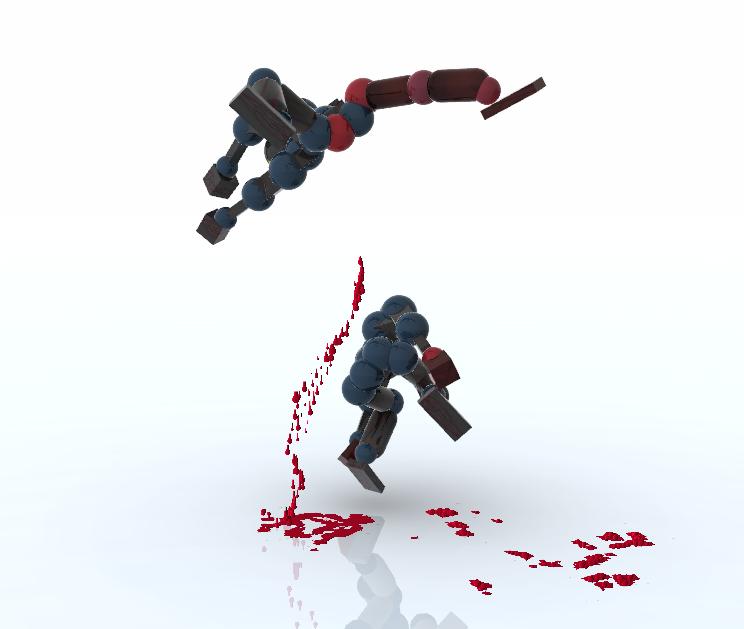 Best Indie Game - Toribash Screenshot