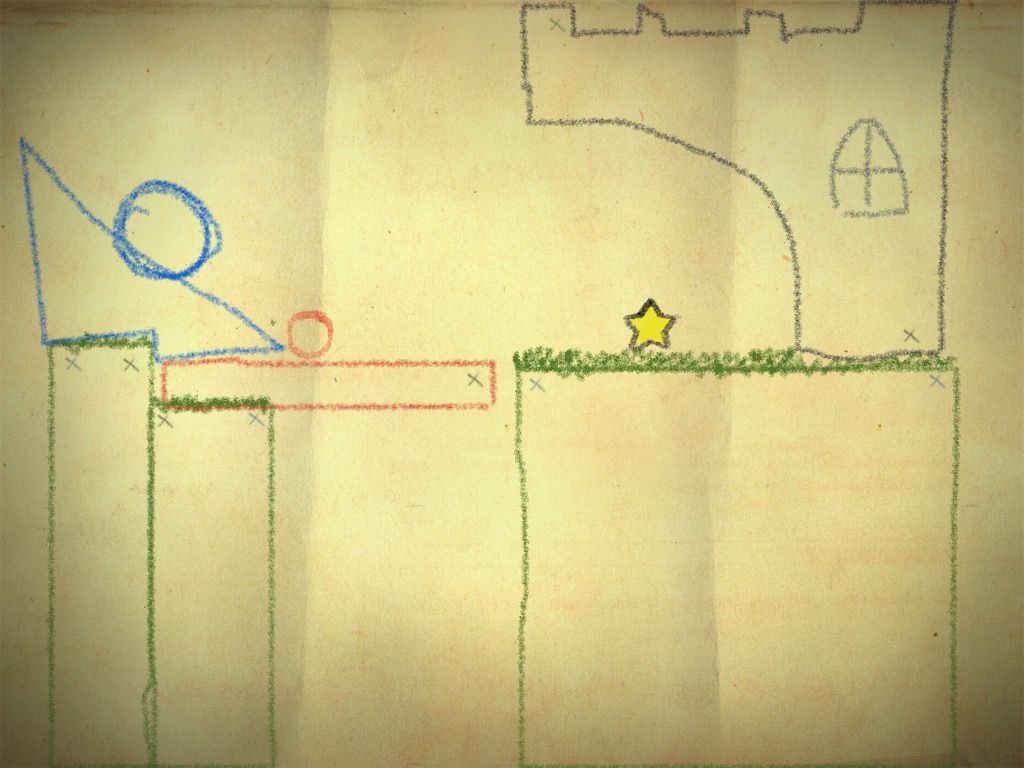 Best Indie Game- Screenshot of Crayon Physics Deluxe