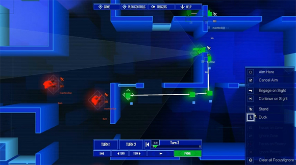 Best Indie Game - Screenshot of Frozen Synapse