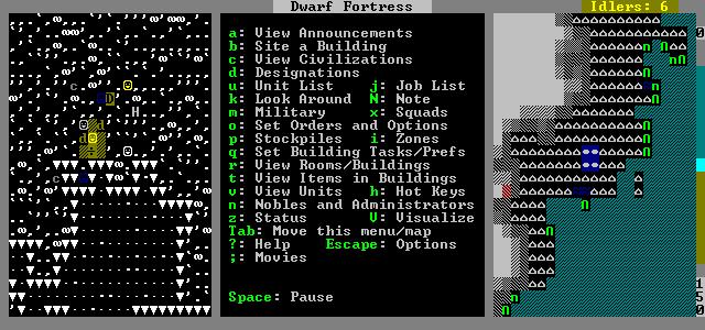 Best Indie Game - Dwarf Fortress Screenshot
