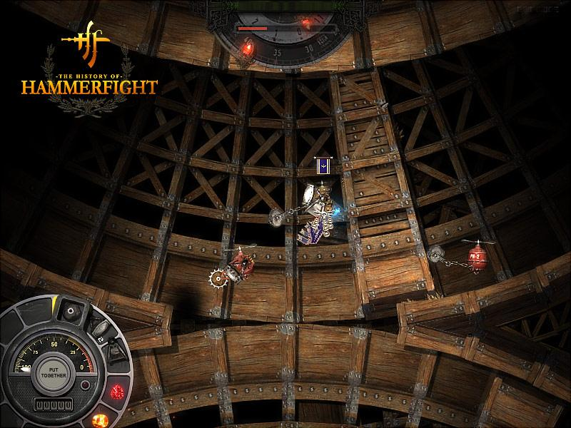 Best Indie Game - Screenshot of Hammerfight