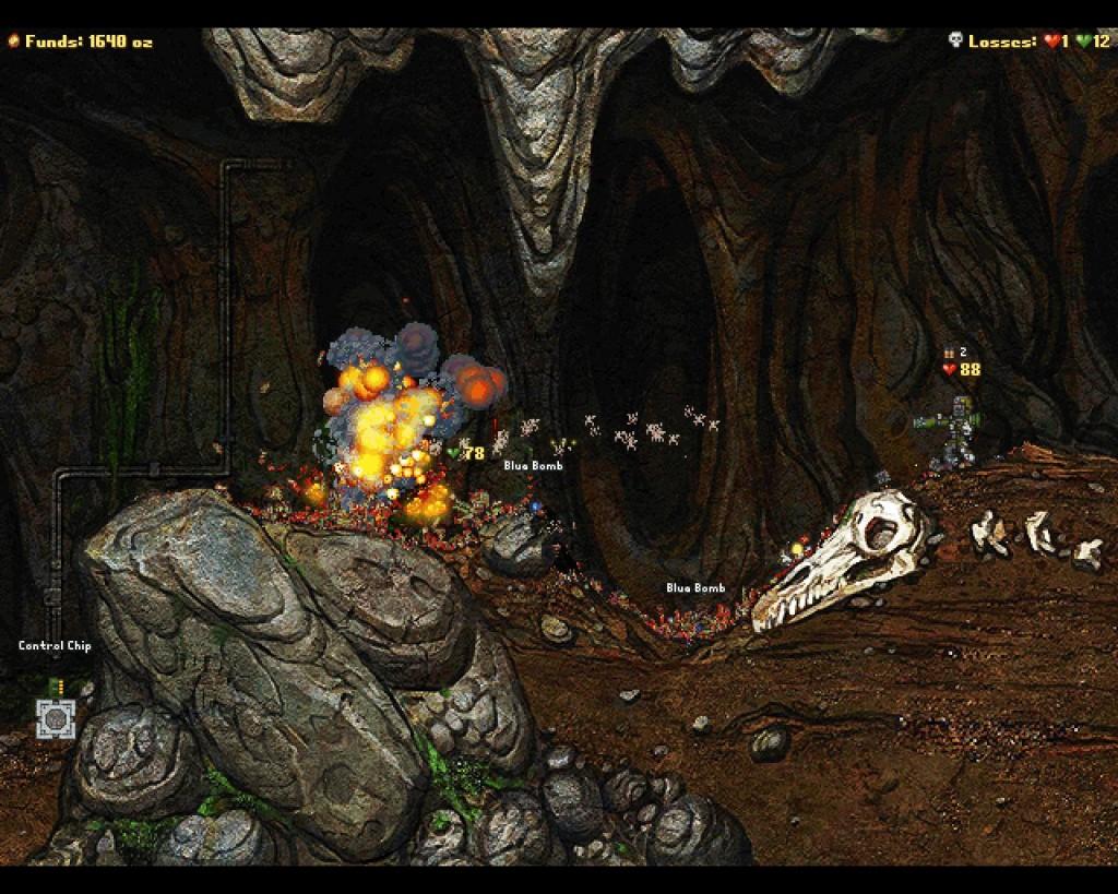 Best Indie Game- Screenshot of Cortex Command