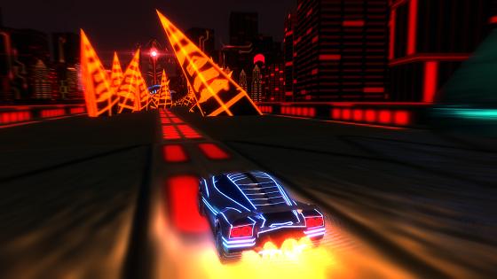 Best Indie Game - Screenshot of Nitronic Rush
