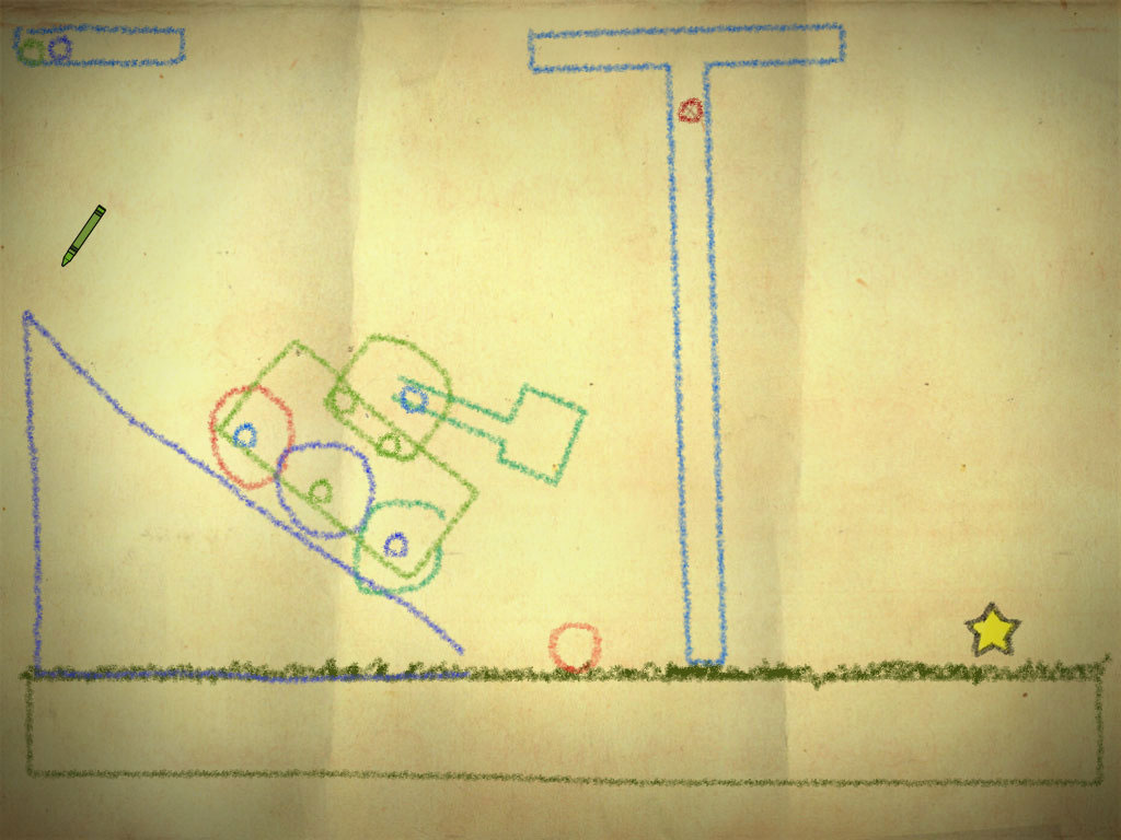 Best Indie Game - Screenshot of Crayon Physics Deluxe