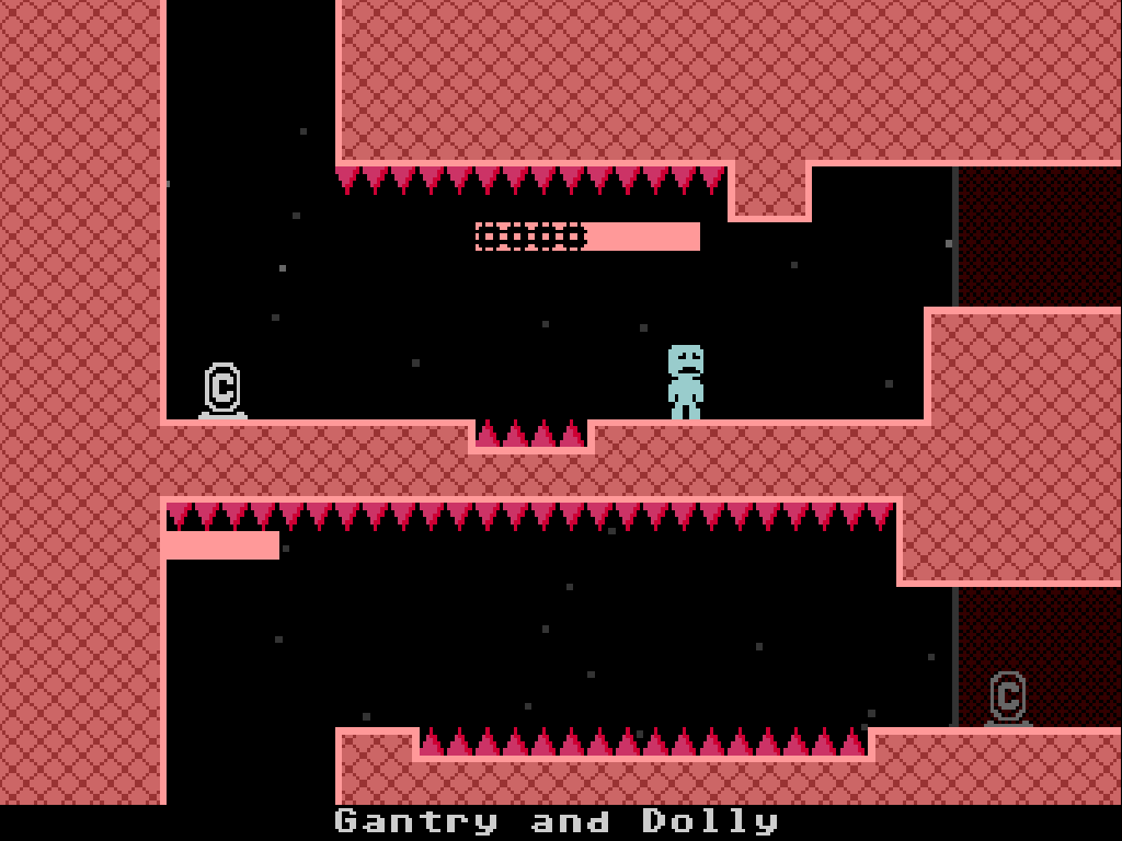 Best Indie Game - Screenshot of VVVVVV