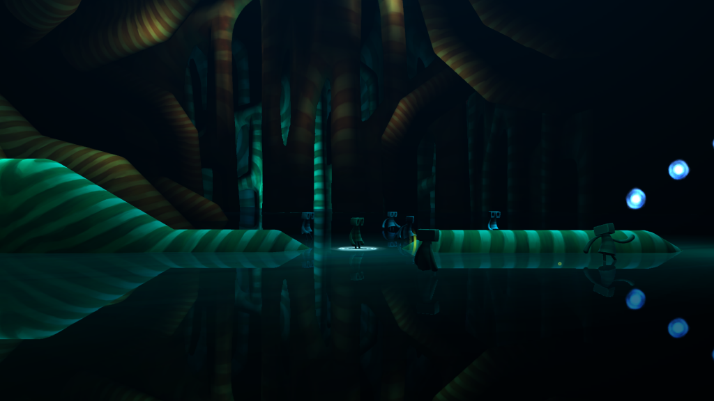 Best Indie Game - Screen shot of OIO
