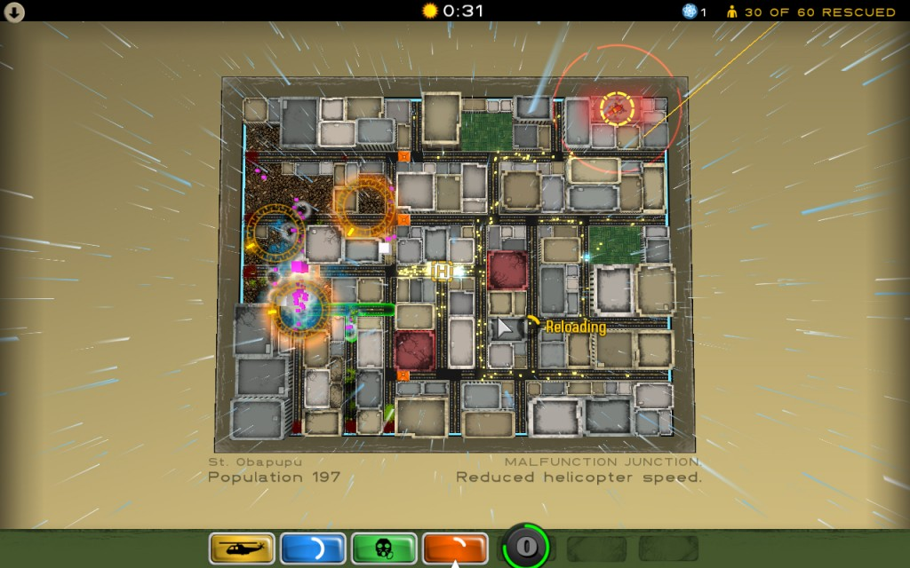 Best Indie Game - Screenshot of Atom Zombie Smasher