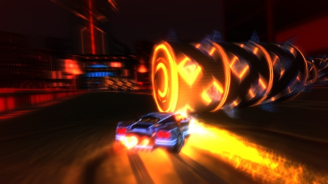 Best Indie Game -Screenshot of Nitronic Rush