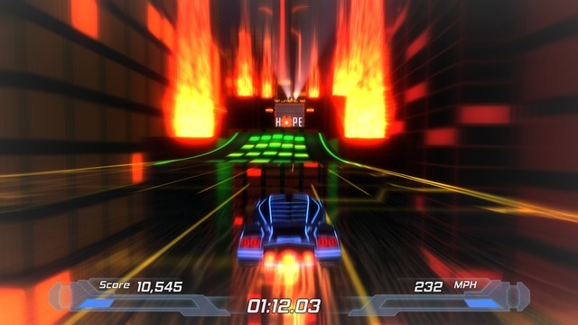 Best Indie Game - Screenshot of Nitronic Rush